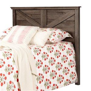 Tête de lit Lilak de South Shore, double/grand format, chêne automnal