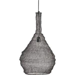 Luminaire suspendu Collen moderne de Notre Dame Design, 1 lumière DEL, noir