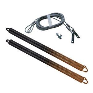 Ressorts et câbles de sécurité pour porte de garage Ideal Security. 160 lb, brun, paquet de 2