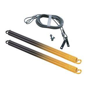 Ressorts et câbles de sécurité pour porte de garage Ideal Security. 180 lb, orange, paquet de 2