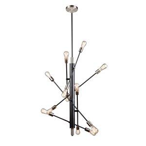 Luminaire suspendue à 12lampes Truro de Artcarft Lighting