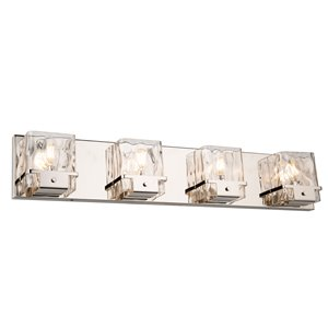 Artcraft Lighting Wiltshire 4-Light Wall Light - Nickel
