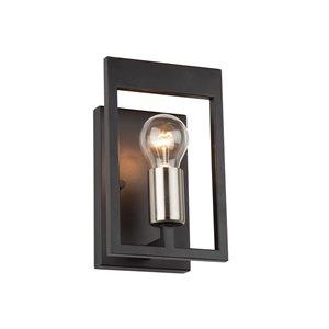 Artcraft Lighting Sutherland Wall Light - Black