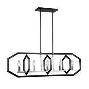 Luminaire à 5lampes Preston de Artcraft Lighting