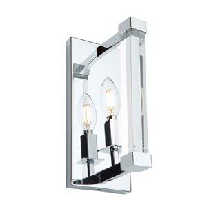 Artcraft Lighting Carlyle Wall Light - Chrome