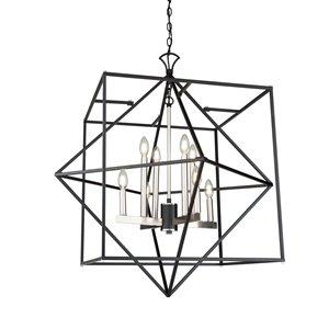 Lustre Roxton de Artcraft Lighting, mat