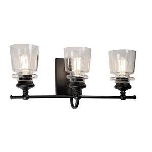 Artcraft Lighting Castara 3-Light Wall Light - Nickel