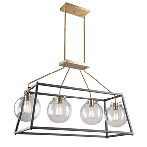 Artcraft Lighting Bridegtown 4-Light Cage Pendant