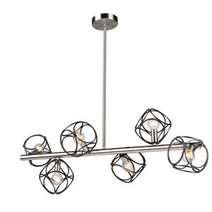 Artcraft Lighting Sorrento 6-Light Island Light