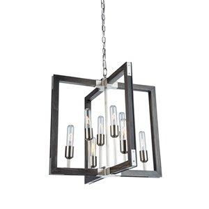 Artcraft Lighting Gatehouse 8-Light Chandelier - Pine
