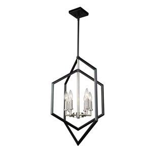 Artcraft Lighting Preston 6-Light Chandelier - Matte Black