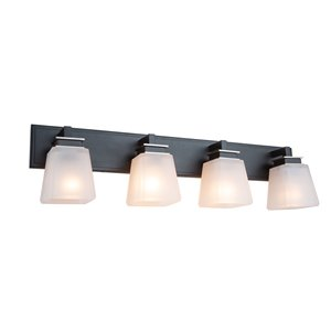 Artcraft Lighting Eastwood 4-Light Wall Light - Black