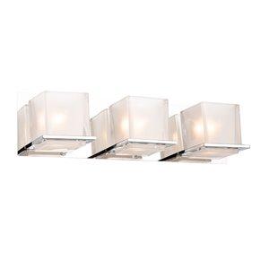 Artcraft Lighting Wyndham 3-Light Wall Light - Chrome