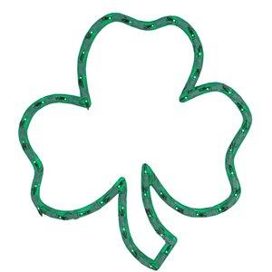 Northlight St.Patrick's Day Irish Shamrock Window Decoration - 17-in
