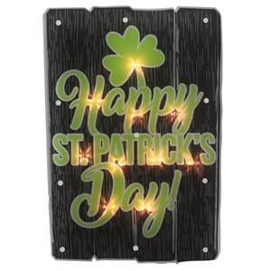 Northlight Happy St.Patrick's Day Window Silhouette Decoration - 17-in