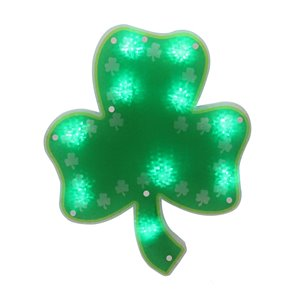 Northlight Happy St.Patrick's Day Window Silhouette Decoration - 14-in