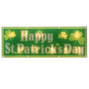 Northlight Holographic Happy St.Patrick's Day Window Decoration - 17-in