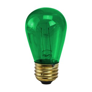 Northlight Incandescent S14 Replacement Bulbs - 25 Pieces - Green