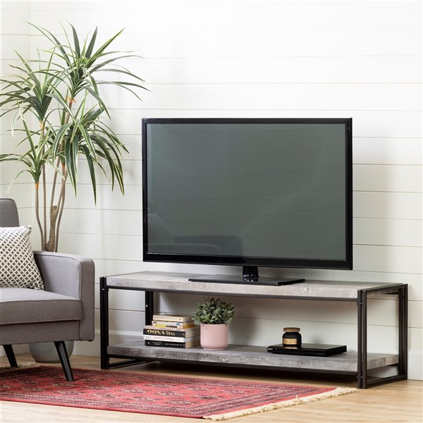 South Shore Gimetri Tv Stand - Driftwood Gray