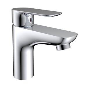 Robinet de lavabo monotrou Gabriella Jade Bath, chrome poli