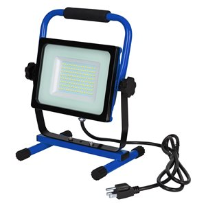 LightWay 68W 7000 Lumen Corded LED Work Light with H Stand