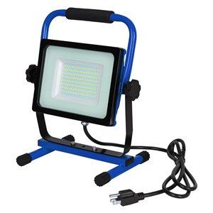 Lampe de travail DEL 68W avec support en H de LightWay, 7000 lumens