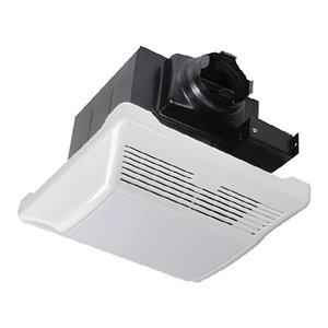 LightWay 110 CFM Ultra-Quiet White Bathroom Fan with Light Ports - 1.2 Sones - ENERGY STAR Certified
