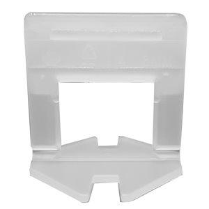 Pince pour niveler carreaux de type L de Tooltech, 0,5 po x 2 po, 2 mm, 2000 mcx