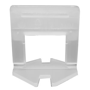 Tooltech ProXTile Tile Levelling Clips L-Type - 0.5-in x 2-in - 3 mm - 500-Pack
