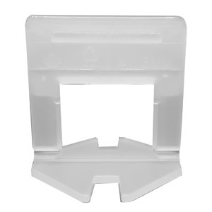Tooltech ProXTile Tile Levelling Clips L-Type - 0.5-in x 2-in - 1.5 mm - 500-Pack