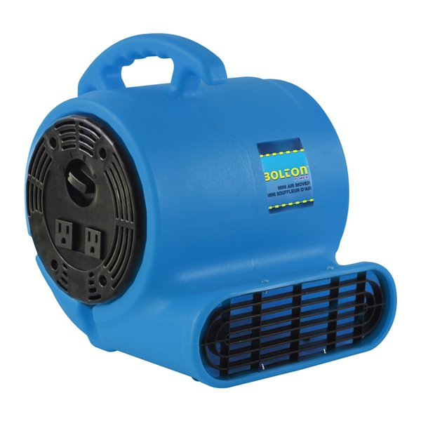 Tooltech 5 HP Compact Low-Profile Air Mover Blower Fan - 900 CFM