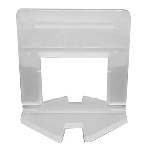 Tooltech ProXTile Tile Levelling Clips L-Type - 0.5-in x 2-in - 2 mm - 500-Pack