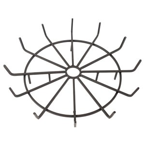 Pleasant Hearth Wagon Wheel Steel Wood Grate - 32-in