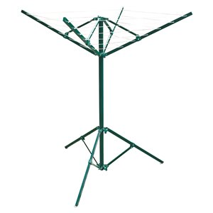 Greenway Portable Outdoor Rotary Clothesline - 63.40-in x 39.70-in