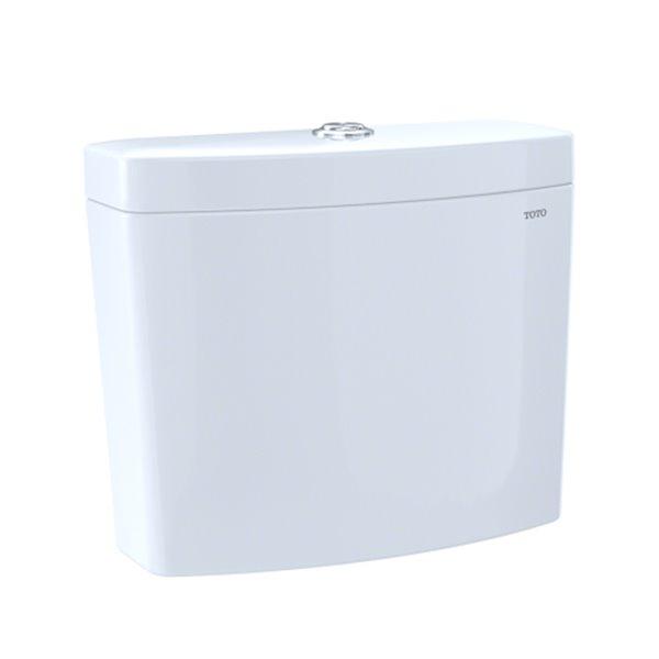 TOTO Aquia IV Dual Flush 1.28-GPF High-Efficiency Toilet Tank - WASHLET+ Auto Flush Compatible - Cotton