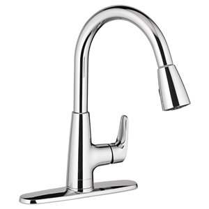 American Standard Colony Pro 1-Handle Deck Mount Pull-Down Residential Kitchen Faucet with Pull-Down Spray - Chrome