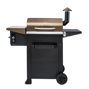 inQbrands Pellet Barbecue ZGrills-L6002B - 537-sq. in. - Bronze Stainless Steel