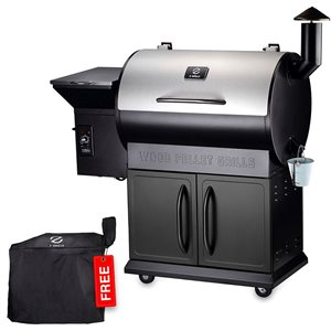 inQbrands Pellet Barbecue ZGrills-700E - 694-sq. in. - Silver Stainless Steel