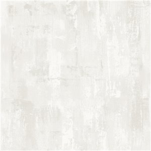 Papier peint Strata en tissu non-tissé texturé3D abstrait par Graham & Brown, non encollé, 56pi², blanc