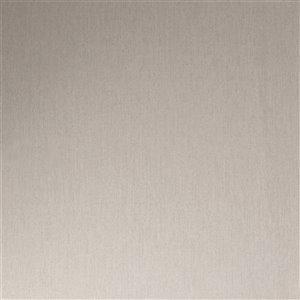 Papier peint Innocence en vinyle texturé au motif abstrait par Graham & Brown, non encollé, 56pi², gris