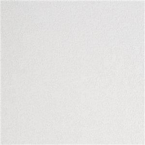 Papier peint en vinyle texturé peinturable au motif abstrait par Graham & Brown, non encollé, 56pi², blanc