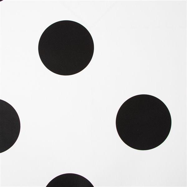 Papier peint Enfants en papier avec motif à pois par Graham & Brown, non encollé, 56pi², noir/blanc