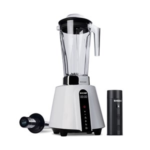 BioChef Living Food Vacuum Blender with Pulse Control - LED Panel - 67.62-oz - White
