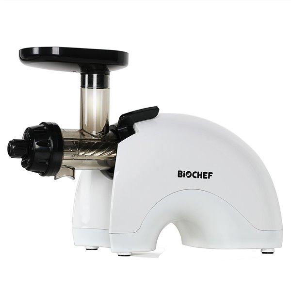 Centrifugeuse à pressage à froid Gemini Twin Gear de BioChef, 200 oz, blanc