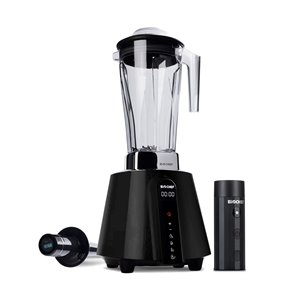 BioChef Living Food Vacuum Blender with Pulse Control - LED Panel - 67.62-oz - Black