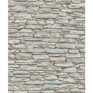 Papier peint Kamen Stone de Marburg, brun
