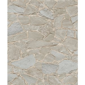 Papier peint Stanley Stone de Marburg, brun