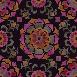 Origin Tracy Medallion Wallpaper - Multicolour
