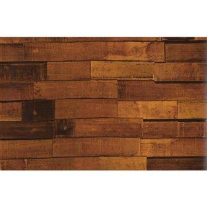 Golden Wood Siding Adhesive Film Set of 2