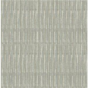Papier peint Brixton Texture de A-Street Prints, gris